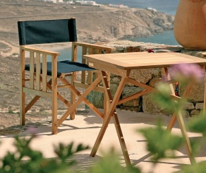 SAFARI TABLE & CHAIR