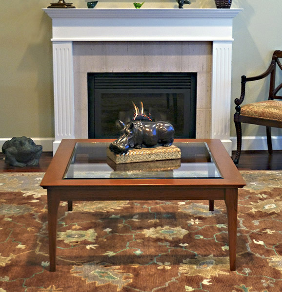 glass top coffee table woodworking plans